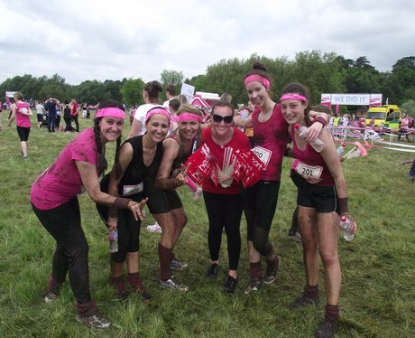 Heart Angels: Pretty Muddy Reading Finish Line