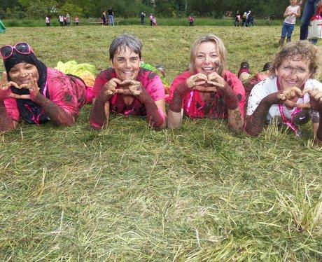 Heart Angels: Pretty Muddy Reading Finish Line Par