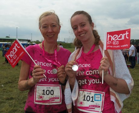 Heart Angels: Pretty Muddy Reading Finish Line Par