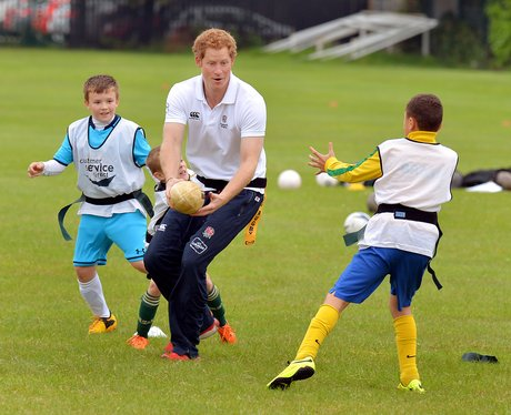 Prince Harry visits Inspire Suffolk Centre
