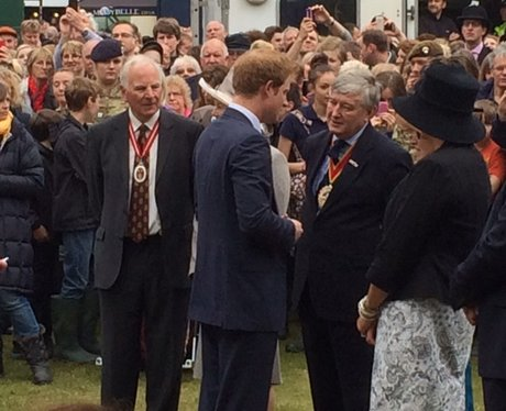 Prince Harry Suffolk Show