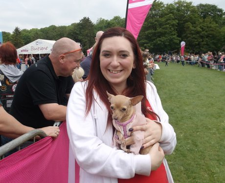 Swindon Race for Life Happy Dogs 2014