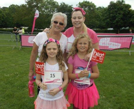 Swindon Race for Life Happy The Ladies 2014