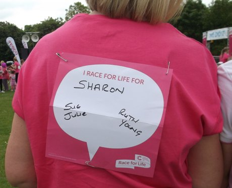 Swindon Race for Life Messages 2014