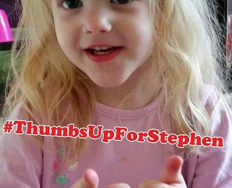 #ThumbsUpForStephen