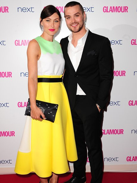 Emma and Matt Willis 2014 Glamour Woman Of The Yea