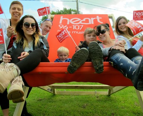 Did you have your picture taken in our giant deckc