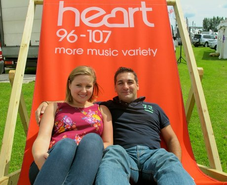 The Heart Angels took their giant deckchair to The