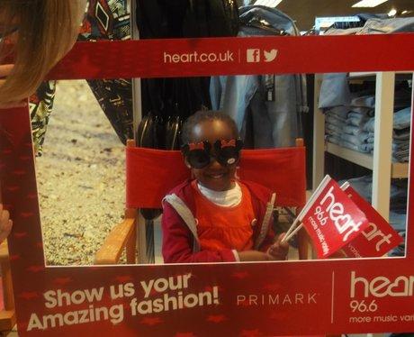 Heart Angels: Primark, Watford (31st May 2014)