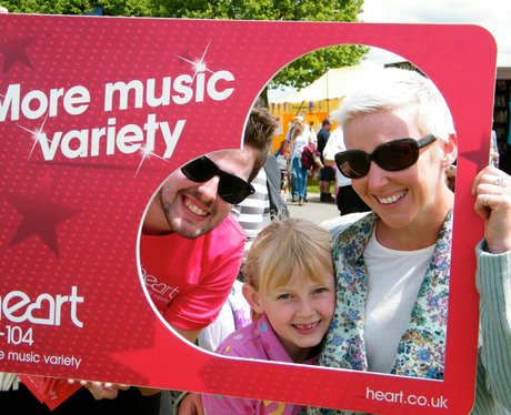 The Heart Angels had a great day at the South of E
