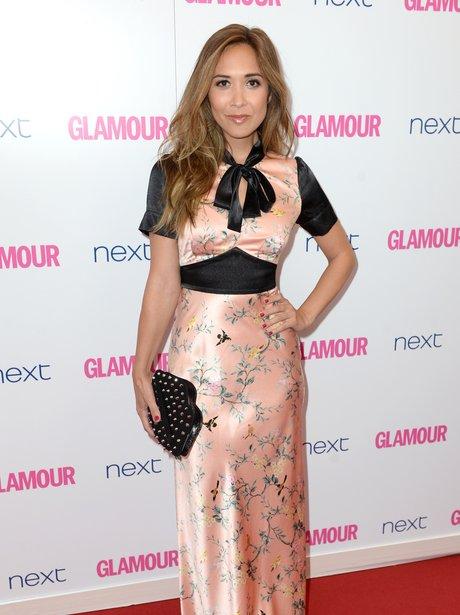 Myleene Klass at the Glamour Women Of The Year Awa
