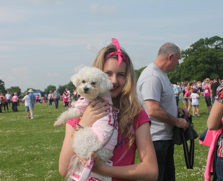 Sunday Swindon Race for Life Happy Dogs 2014