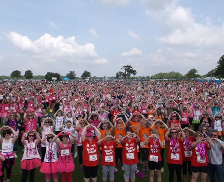 Sunday Swindon Race for Life The Day 2014