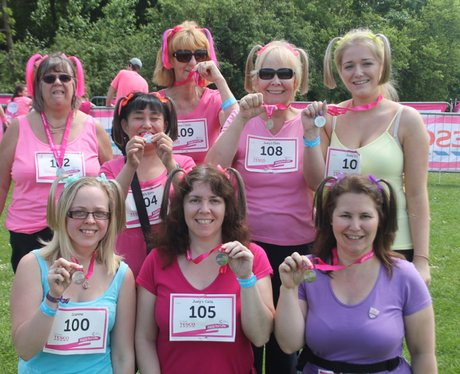 Sunday Swindon Race for Life The Finishers 2014