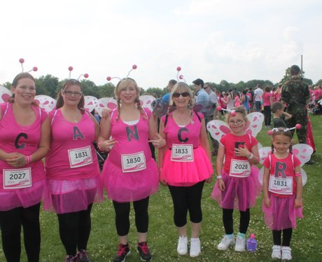 Sunday Swindon Race for Life The Ladies 2014