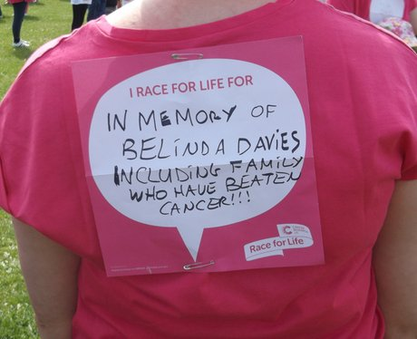 Sunday Swindon Race for Life The Messages 2014