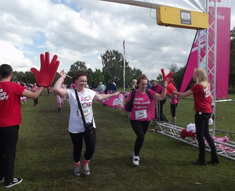 Sutton Coldfield PM: Angel High Five Finish Line
