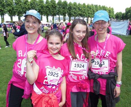 Windsor Race for Life: Finish Line 11am