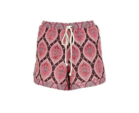 ASOS Tall Shorts in Summer Paisley