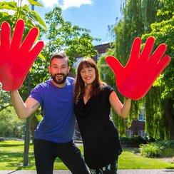 Dave and Sarah's 10000 Handshakes 3