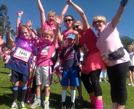 Heart Angels: Royal Tunbridge Wells Race For Life