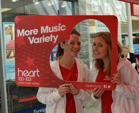 Heart Angels: The Gyle Shopping Centre photos