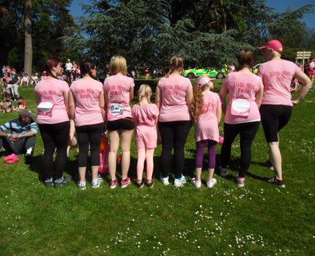 Heart Angels: Tunbridge Wells Race For Life - Pre-