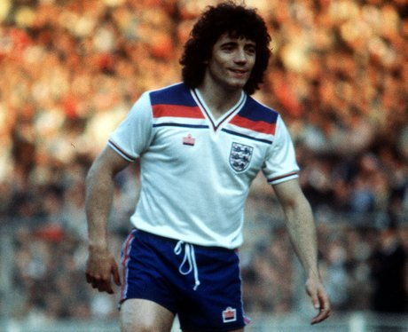 Kevin Keegan with curly hair at world cup