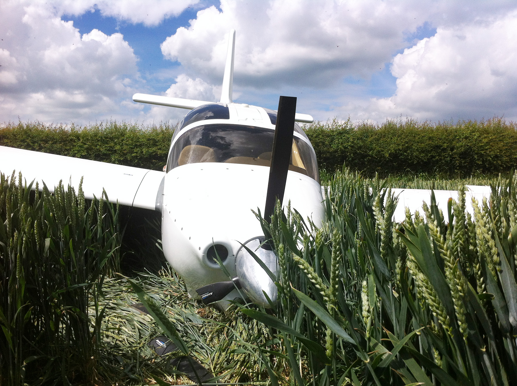 Maidwell Plane Crash