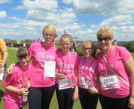 Race For Life 2014 - Milton Keynes