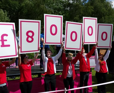 £80,000 was raised from the day.