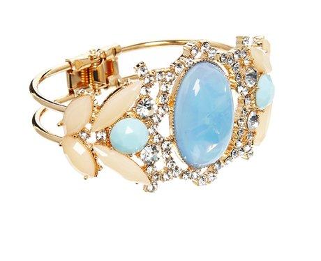 ALDO Conetta Stone Set Cuff Bracelet