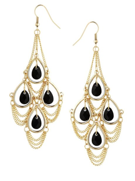 Asos Chandelier Drop Earrings