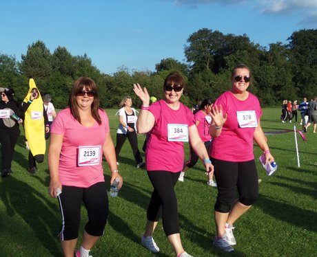 Basingstoke Race for Life Cheerzone