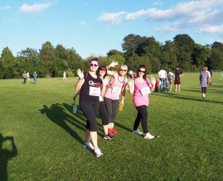 Basingstoke Race for Life Cheerzone