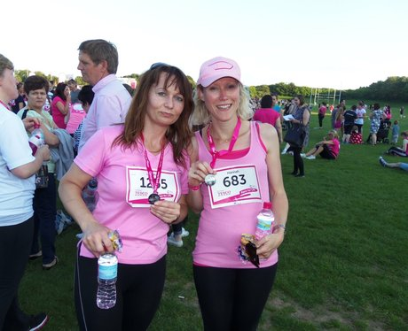 Basingstoke Race for Life Finish Line