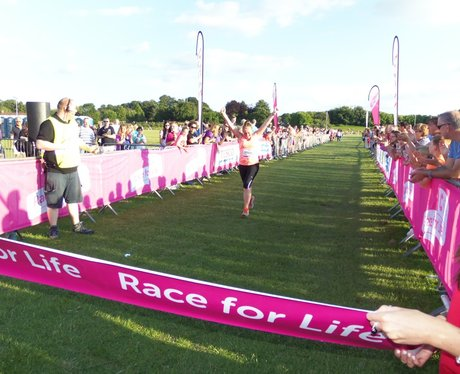Basingstoke Race for Life Finish Line