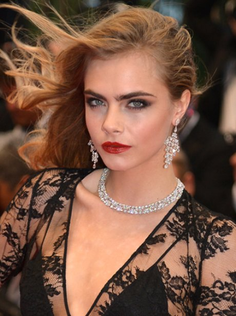 Cara Delevingne at Cannes Film Festival