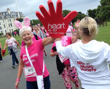 Heart Angels: Folkestone Race For Life - The Race