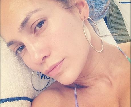 Jennifer Lopez No Make-Up