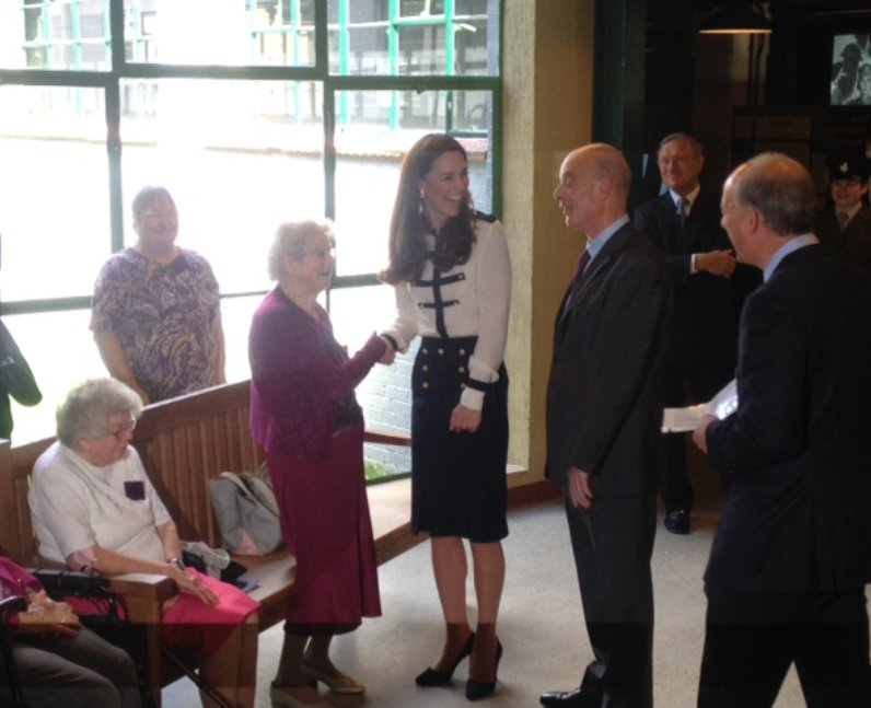 Kate At Bletchley park