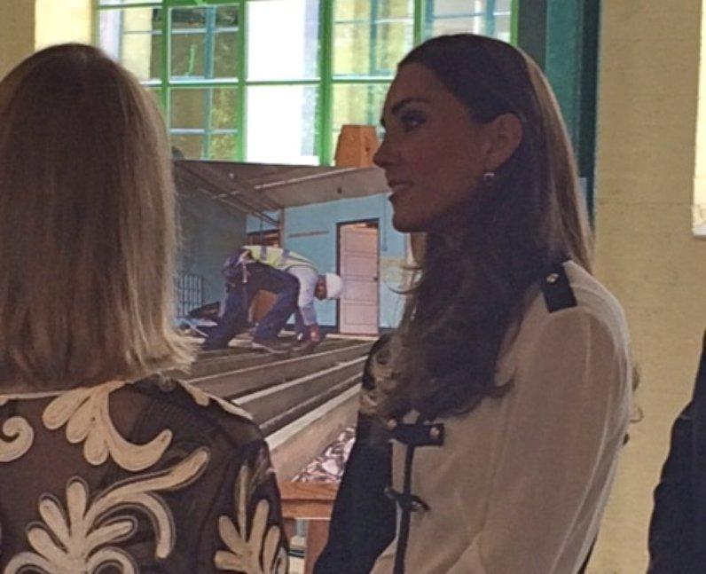 Kate Visits Bletchley