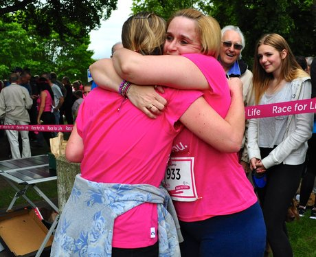 Race For Life 2014 - Bedford Finish line