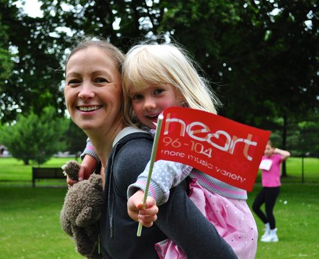Race For Life 2014 - Bedford smiles