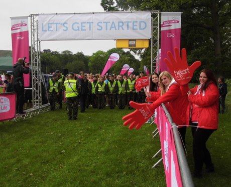 Race For Life Burnley 2014