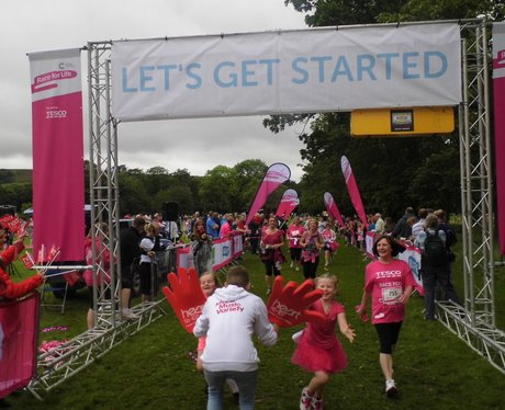 Race For Life Burnley 2014 Part Two