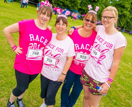 Race for Life Ipswich 2014
