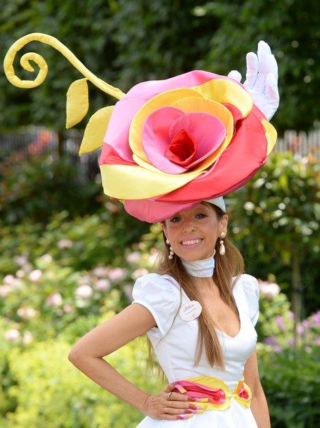 Royal Ascot Rose Hat 2014