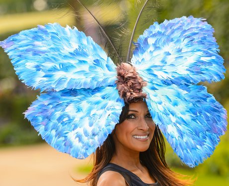 Royal Ascot butterfly Hat 2014