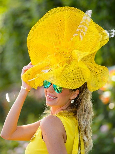 Royal Ascot Yellow Hat 2014